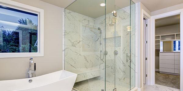 Prevent scale and bacteria buildup on your Shower Glass Tubs With Better, cleaner, and Healthier Water
